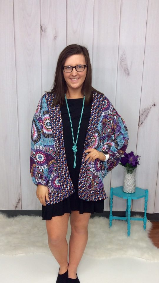 Maui Nights Kimono - FINAL SALE CLEARANCE