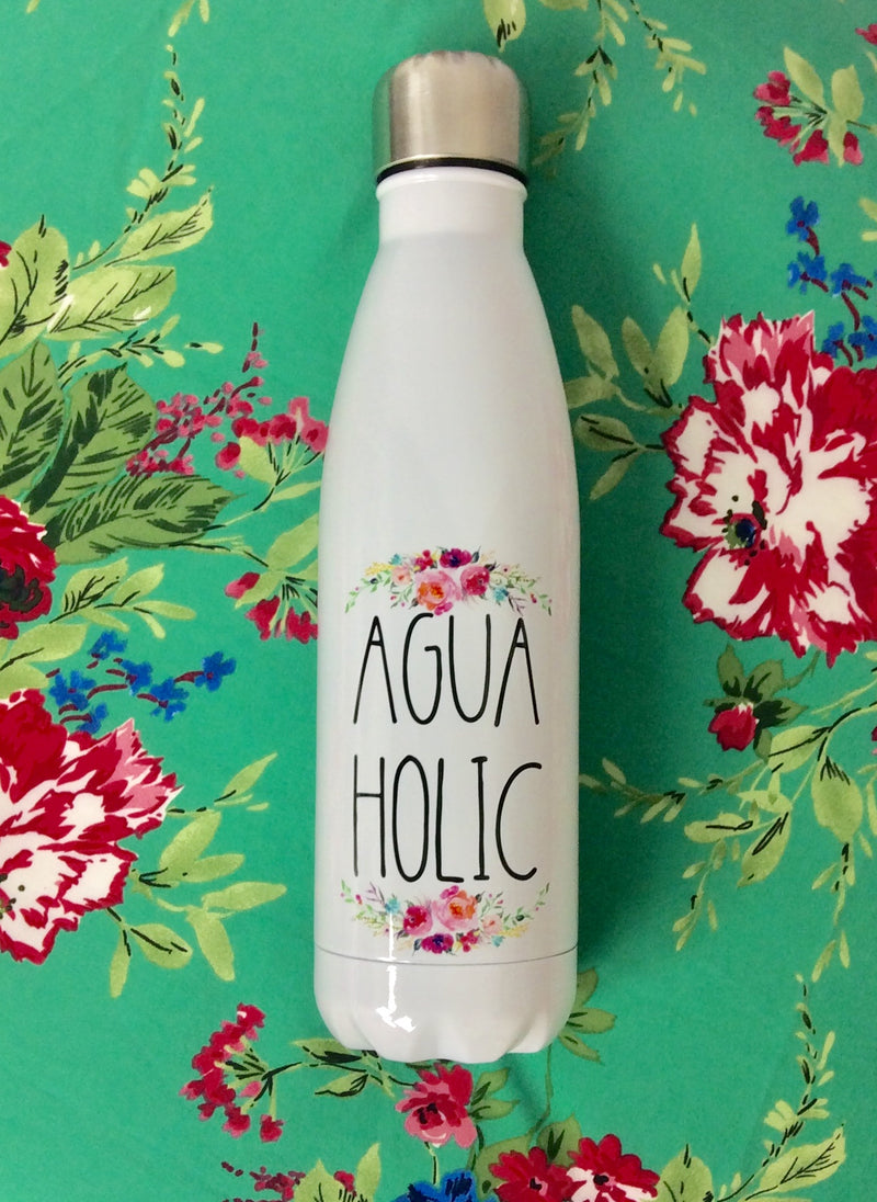 Aguaholic Water Bottle