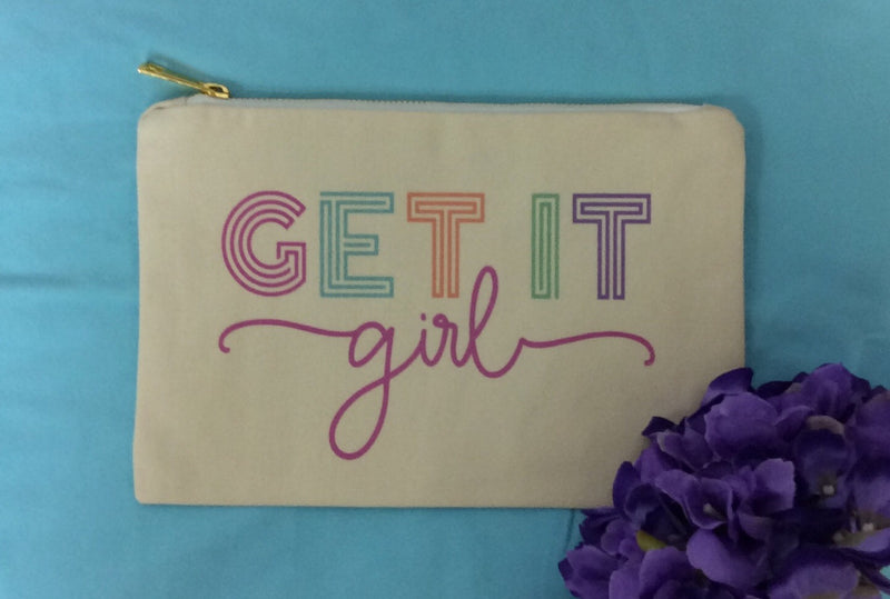 Get It Girl Make Up Bag