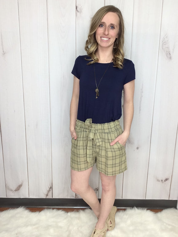 Perfectly Plaid Shorts