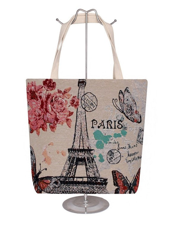 Springtime in Paris Tote