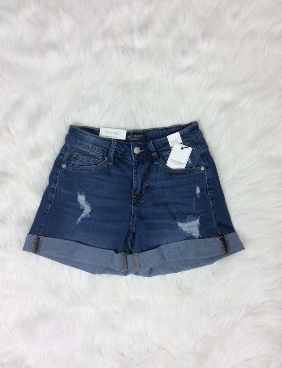 The Sun Never Sets Judy Blue Jean Shorts