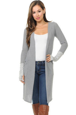 Gonna Love It Cardigan - Heather Grey - FINAL SALE CLEARANCE