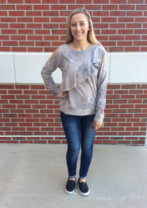 Be A Star Distressed Top
