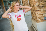 Iowa State University Lace Detail Jersey