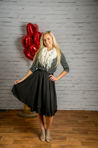 Lady-Like Double Layered Chiffon Skirt