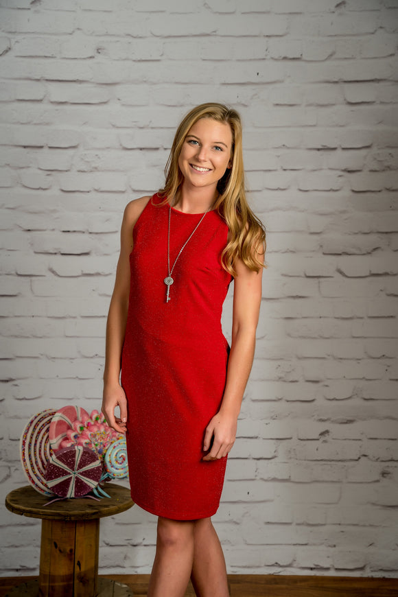 Lady In Red Dress - FINAL SALE CLEARANCE