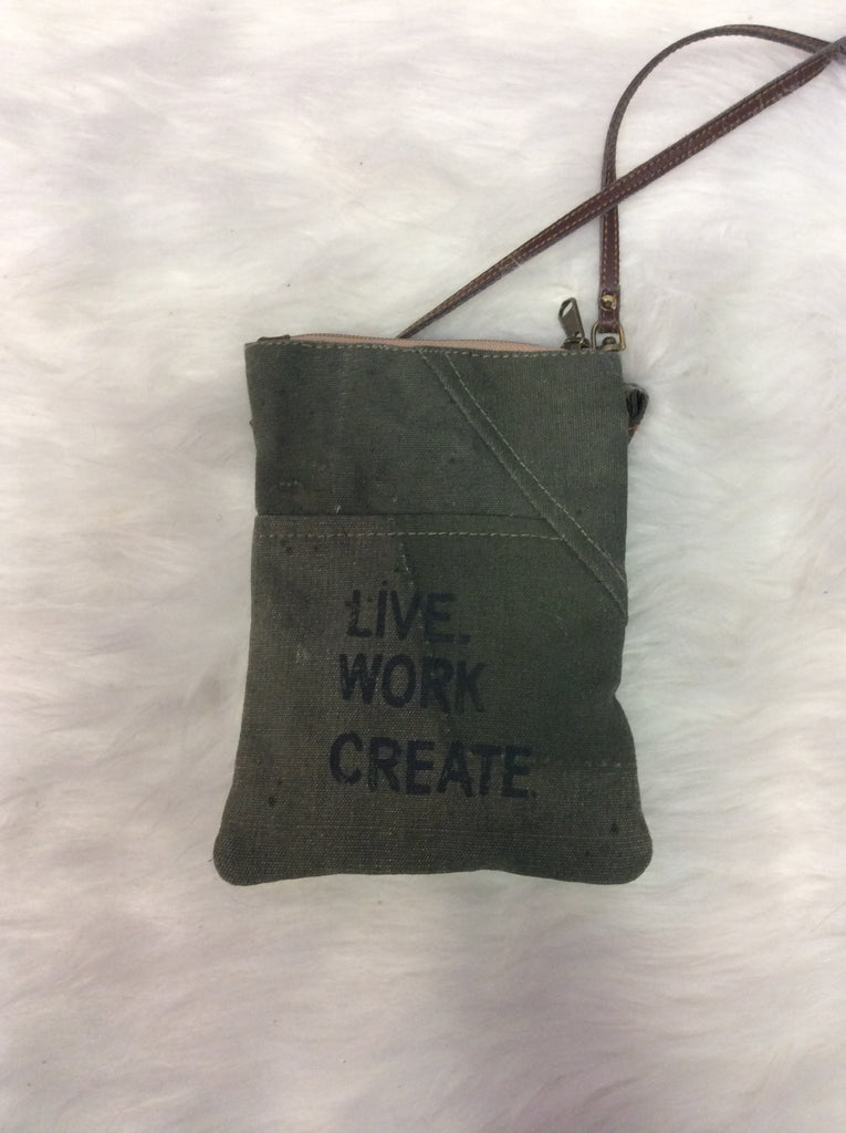 Mona B. Live Work Create Small Crossbody