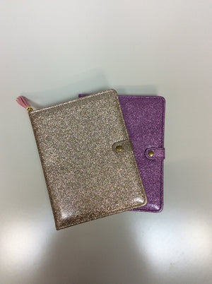Glitter Snap Journal