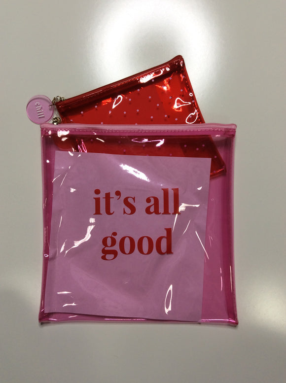 It's All Good Pouch Set