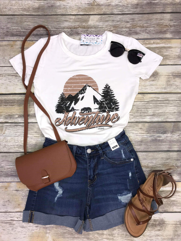 Adventure Begins Graphic Top