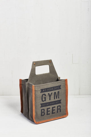 Mona B. Gym Beer Caddy