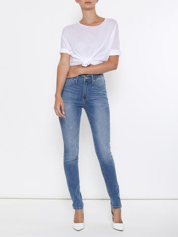 Kan Can High Rise Faded Wash Skinny Jeans