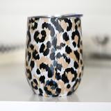 Leopard Full Wrap Wine Cup