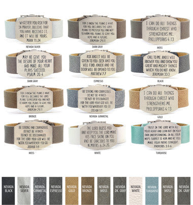 Good Work(s) Wide Scripture Bracelet