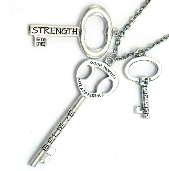 Good Work(s) Blessing Keys Necklace