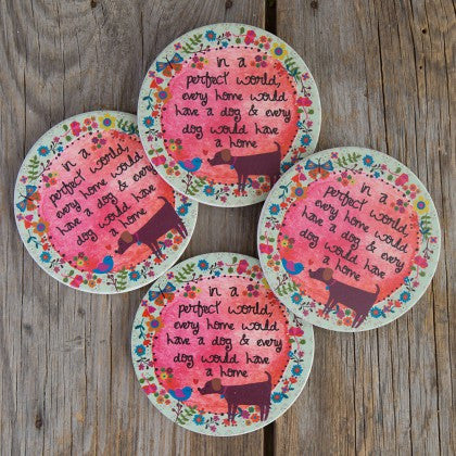 Natural Life In A Perfect World Coasters