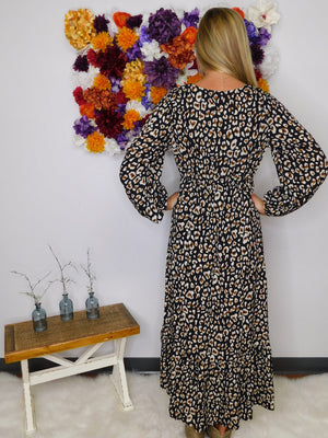 Rock This Town Leopard Print High Low Dress