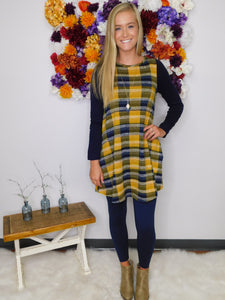 Follow Me Fall Tunic Dress