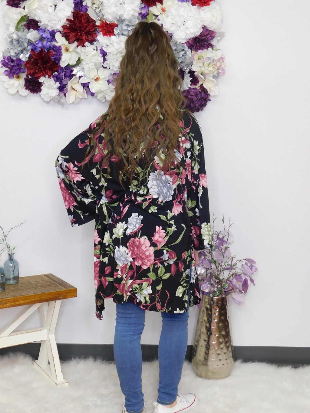 Follow Me Floral Cardigan