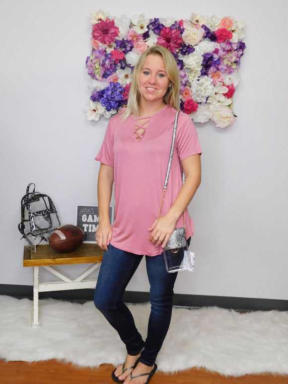 In The Rose Garden Basic Top