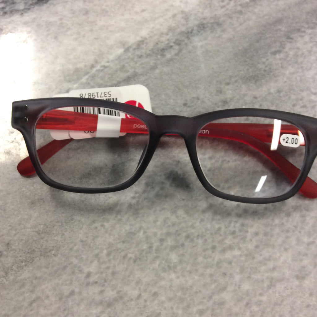 Peepers - Style Two - Gray / Red