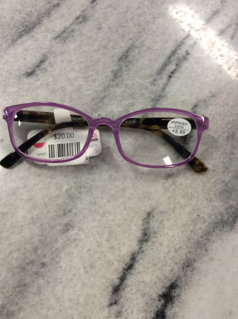 Turtle Bay-Purple Reading Glasses