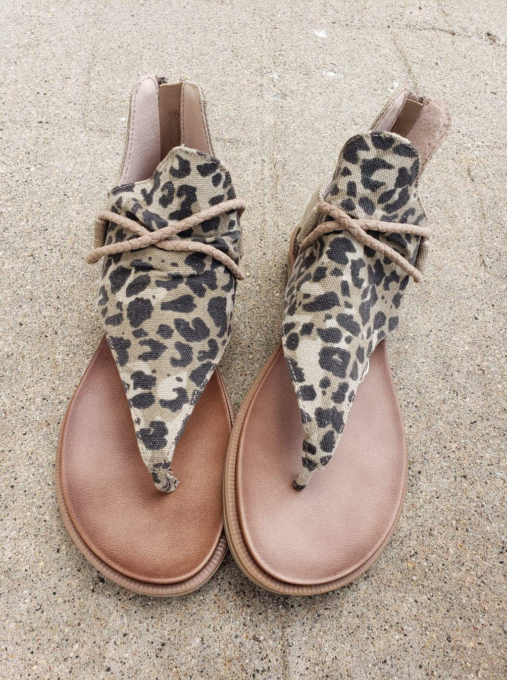 Very G Sparta Sandal - Leopard