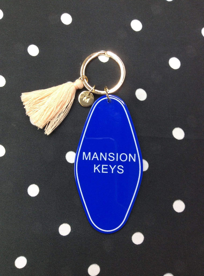 Mansion Keys Key Chain