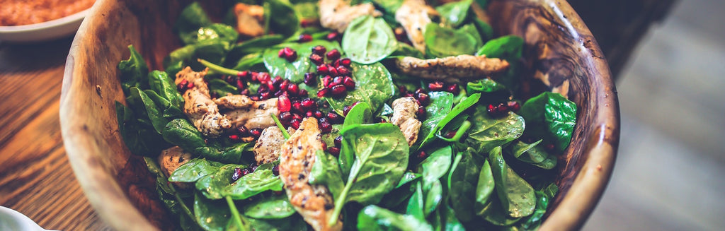 spinach-salad-with-chicken