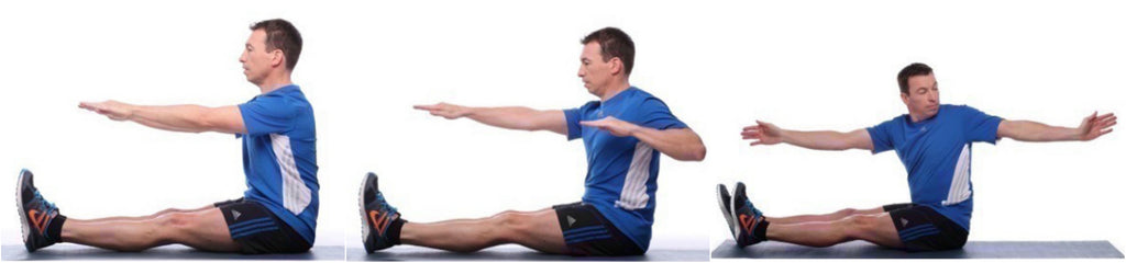 Internal flexibility exercise one