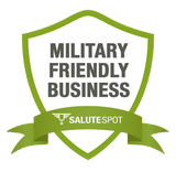 salutespot military discounts - military friendly business badge