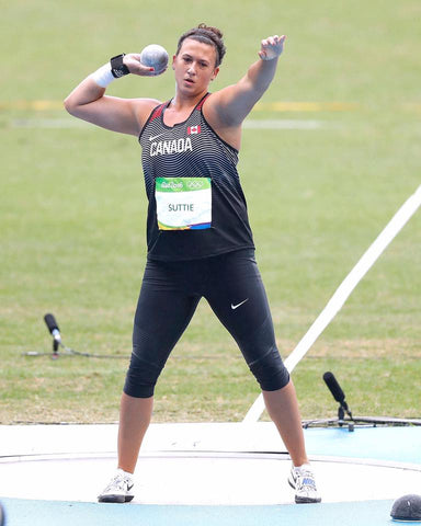 Suttie competing in 2016 Olympic Games