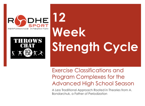 Lecture - 12 Week Strength Cycle