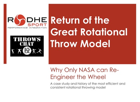 Lecture - Return of the Great Rotational Throw Model