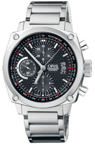 Oris BC4 Chronograph Stainless Steel Automatic Watch 674-76164154-MB