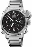 Oris BC4 Flight Timer Chronograph Stainless Steel Watch 690-7615-4164-MB