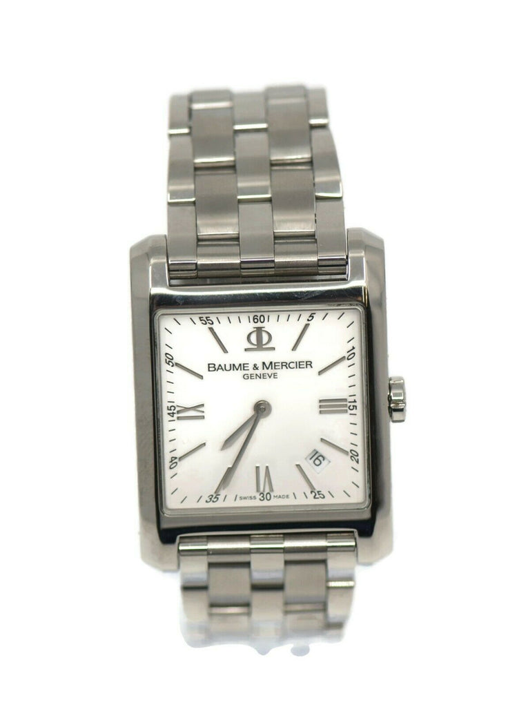 Baume & Mercier Hampton Jumbo Stainless Steel Watch 65562