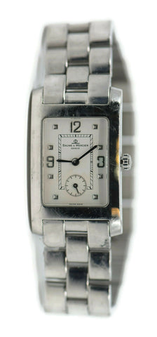 Baume Mercier Hampton Stainless Steel Watch MV045063