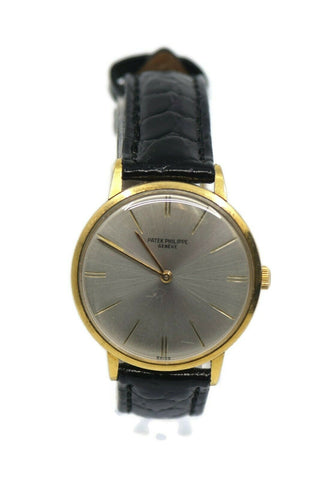 Patek Philippe Calatrava 18K Yellow Gold Watch 3468