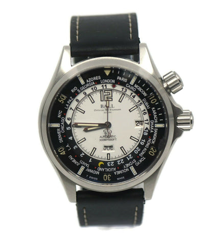 Ball Engineer Master II Worldtime Stainless Steel Watch DG2022A