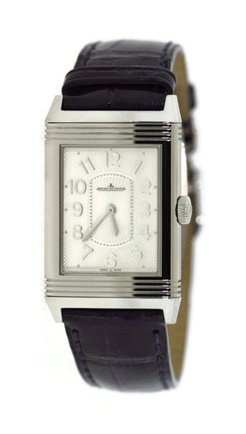 Jaeger LeCoultre Reverso Classique Ultra Thin Stainless Steel Watch 268.8.47 Pre Owned