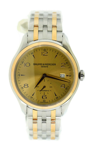 Baume & Mercier Clifton 18K/Stainless Steel Watch MOA10352