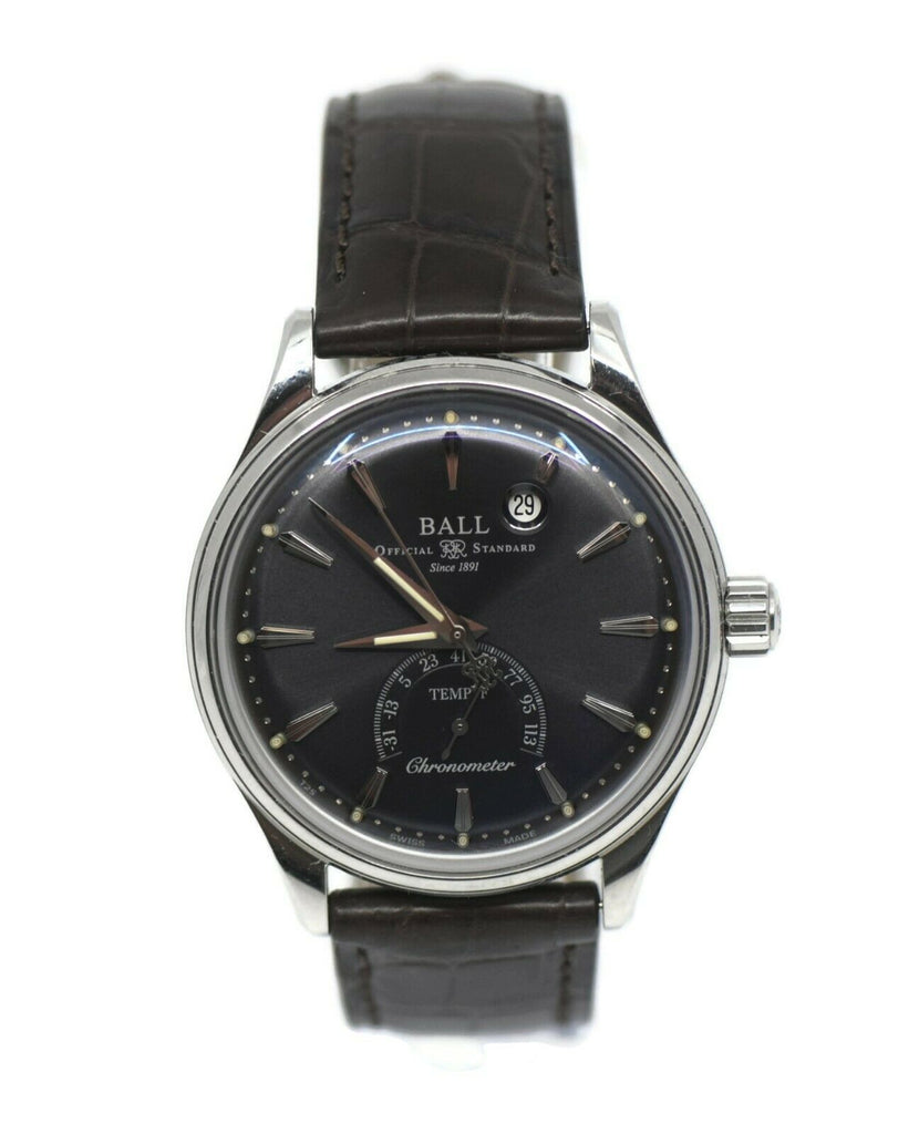 Ball Trainmaster Kelvin Stainless Steel Watch NT3888D