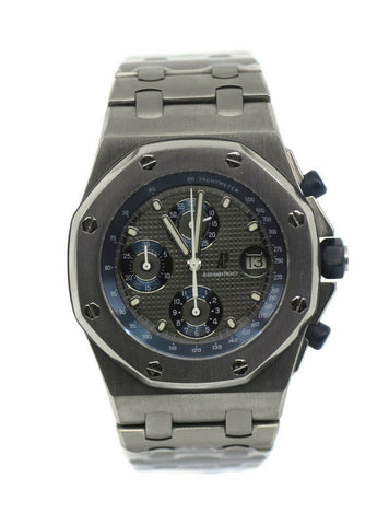 Audemars Piguet Royal Oak Offshore Chronograph Titanium Watch 25721TI