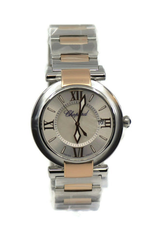 Chopard Imperiale Mother Of Pearl 18K Rose Gold/Stainless Steel Watch 388532