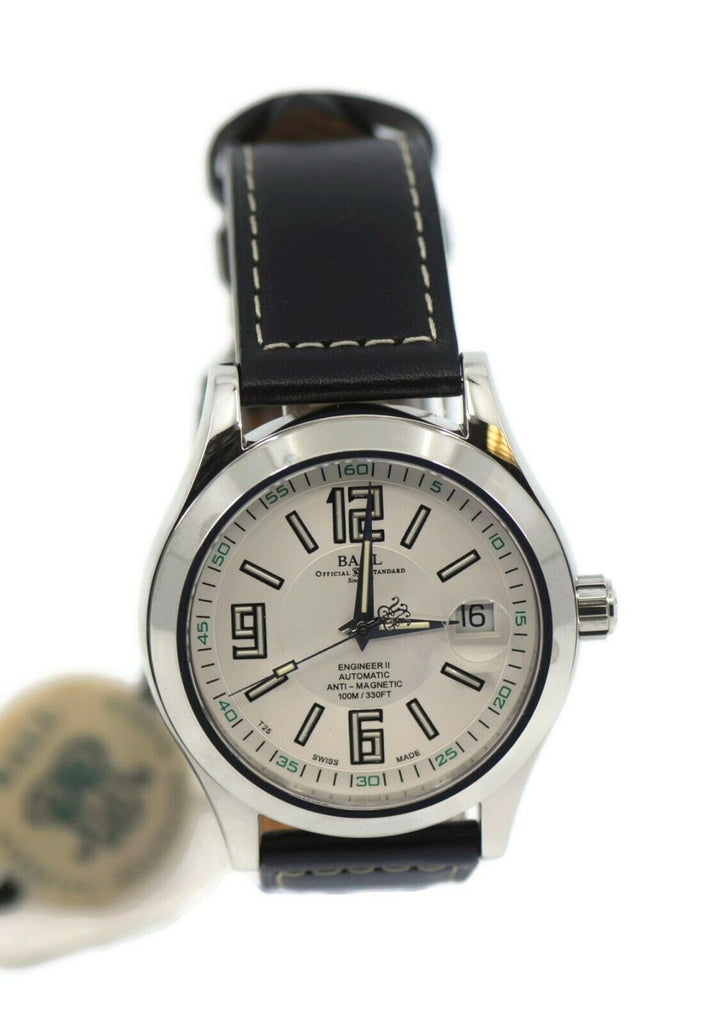 Ball Engineer II Stainless Steel Watch NM1020C-L4-WHSL