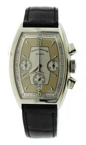 Franck Muller Casablanca Havana Chronograph Stainless Steel Watch 5850CC