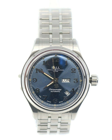 Ball Trainmaster Cleveland Stainless Steel Watch NM1058D