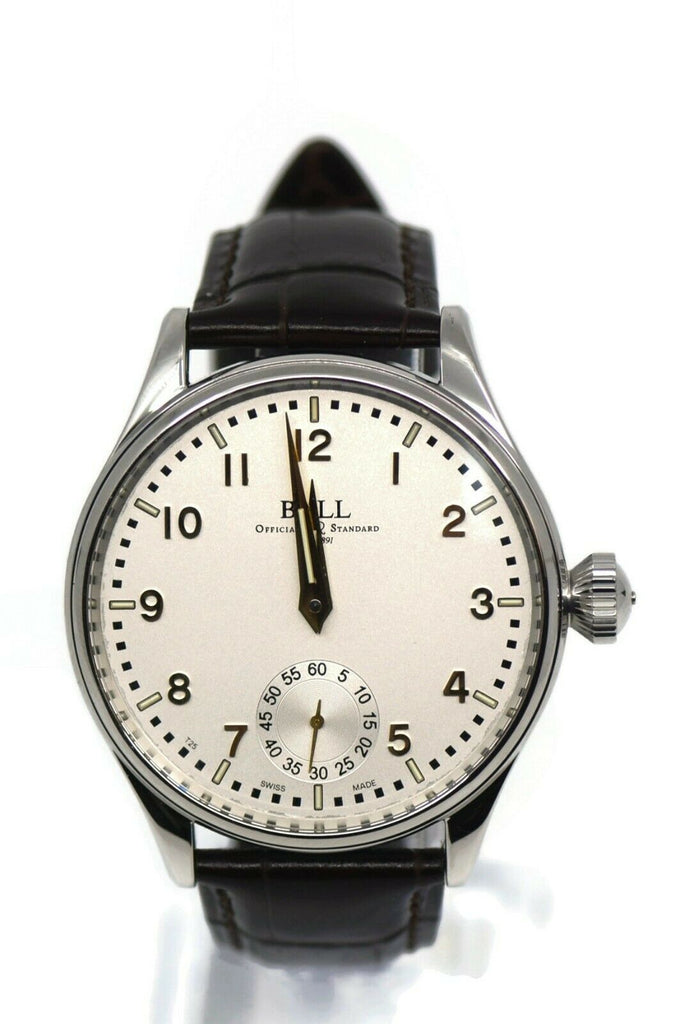 Ball Trainmaster Cleveland Stainless Steel Watch NM3038D